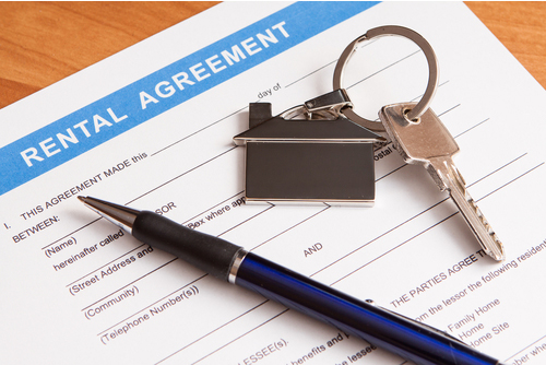 Image of lawyer working through rental tenancy agreement
